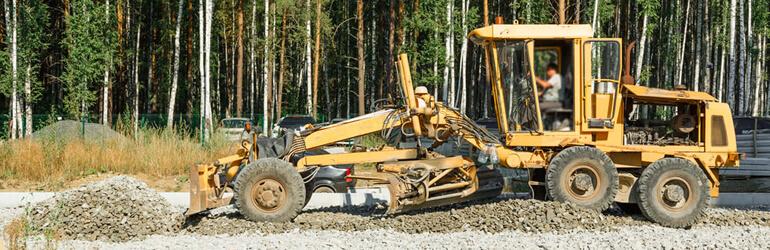 5 equipamentos de terraplanagem que não podem faltar para locação